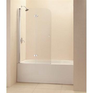 "Bath Authority DreamLine EZ-fold Frameless Hinged Tub Door, 36"" Chrome Finish Hardware SHDR-3636580-01 by Bath Authority DreamLine"