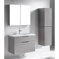"Madeli Bolano 36"" Bathroom Vanity for Integrated Basin - Ash Grey B100-36-022-AG"