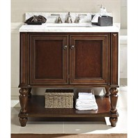 "Fairmont Designs Stratford 36"" Vanity Open Shelf - Brandy 149-VH36"