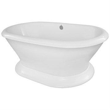 Hydro Systems Lauren 7040 Freestanding Tub LAU7040A by Hydro Systems