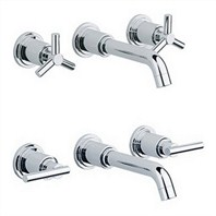 Grohe Atrio Wall Mount Vessel Faucet Trim - Starlight Chrome