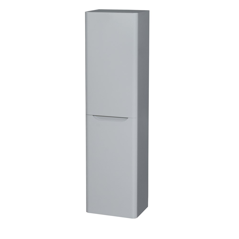 Murano Wall-Mounted Side Cabinet by Wyndham Collection - Gray WC-7777-CAB-GRY