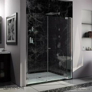 """Bath Authority DreamLine Allure Shower Door, 54""""-61"""" by Bath Authority DreamLine"""