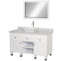 "Premiere 48"" Bathroom Vanity by Wyndham Collection - White WC-CG5000-48-WHT-"