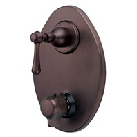 Danze® Opulence™ Two Handle Thermostatic Shower Trim Kit - Oil Rubbed Bronze