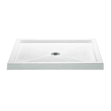 "MTI MTSB-4236MT Multi-Threshold Shower Base, 42"" x 36"" MTSB-4236MT by MTI"