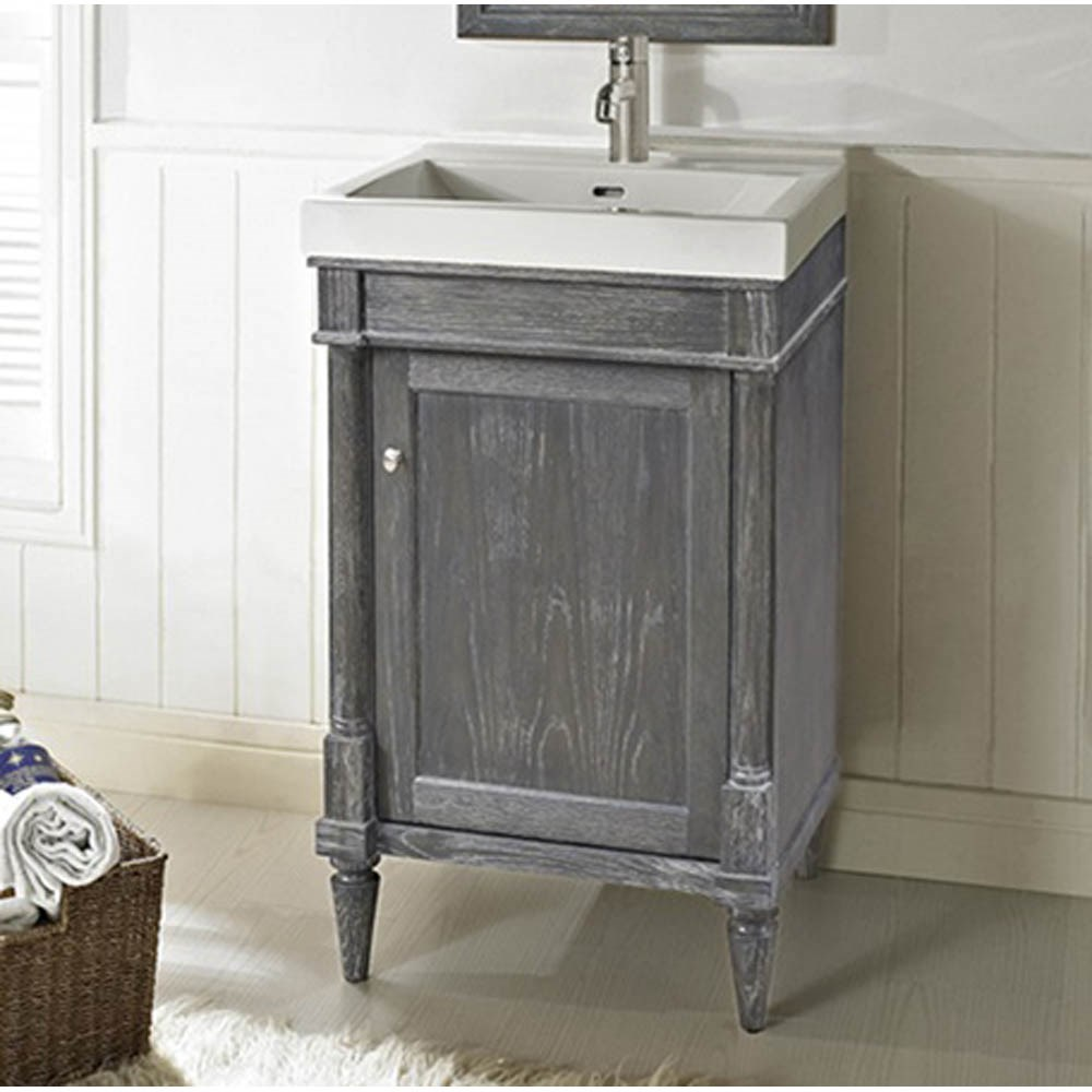 "Fairmont Designs Rustic Chic 21"" Vanity - Silvered Oaknohtin Sale $1055.00 SKU: 143-V2118 :"
