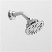 "TOTO Traditional Collection Series A Single-Spray Shower Head, 4-1/2"" - 2.0 GPM TS300AL51"