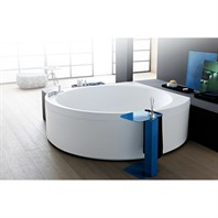 Aquatica Suri-Wht Relax Air Massage VelveX Bathtub - Matte White Aquatica Suri-M-Rlx