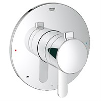 Grohe Europlus Dual Function Pressure Balance Trim with Control Module - Starlight Chrome GRO 19881000