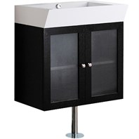 Vigo 25-inch Single Bathroom Vanity - Wenge VG09004104K1