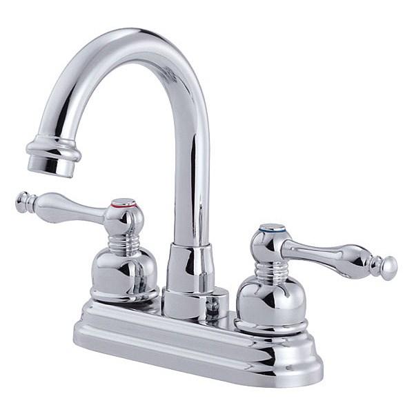 Danze® Sheridan™ Two Handle Centerset Arched Lavatory Faucet - Chromenohtin Sale $116.25 SKU: D301355 :