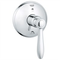 Grohe Somerset 3-Port Diverter Trim - Starlight Chrome