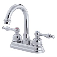 Danze® Sheridan™ Two Handle Centerset Arched Lavatory Faucet - Chrome D301355