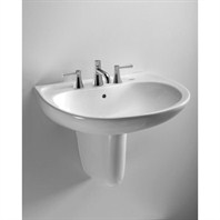 TOTO Supreme Wall Mount Lavatory - Ebony