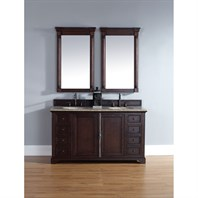 "James Martin 60"" Providence Double Cabinet Vanity - Sable 238-105-5631"