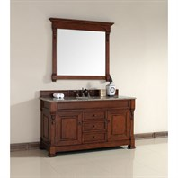 "James Martin 60"" Brookfield Single Vanity - Warm Cherry 147-114-5381"