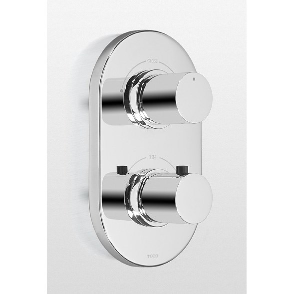 TOTO Nexus® Thermostatic Mixing Valve Trim with Dual Volume Control TS794D