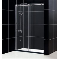 "Bath Authority DreamLine Enigma-X Sliding Shower Door (56""-60"") SHDR-61607610"