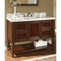 "Fairmont Designs Stratford 48"" Vanity Open Shelf - Brandy 149-VH48"