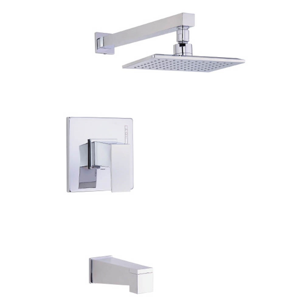 Danze Mid-Town 1H Tub & Shower Trim Kit w/ Diverter on Spout 1.75gpm - Chromenohtin Sale $294.00 SKU: D501062T :