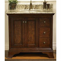"Fairmont Designs Newhaven 36"" Vanity Drawer Right - Nutmeg 159-V36R"