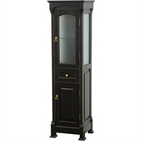 Andover Traditional Bathroom Cabinet by Wyndham Collection - Black WC-TFS065-BLK