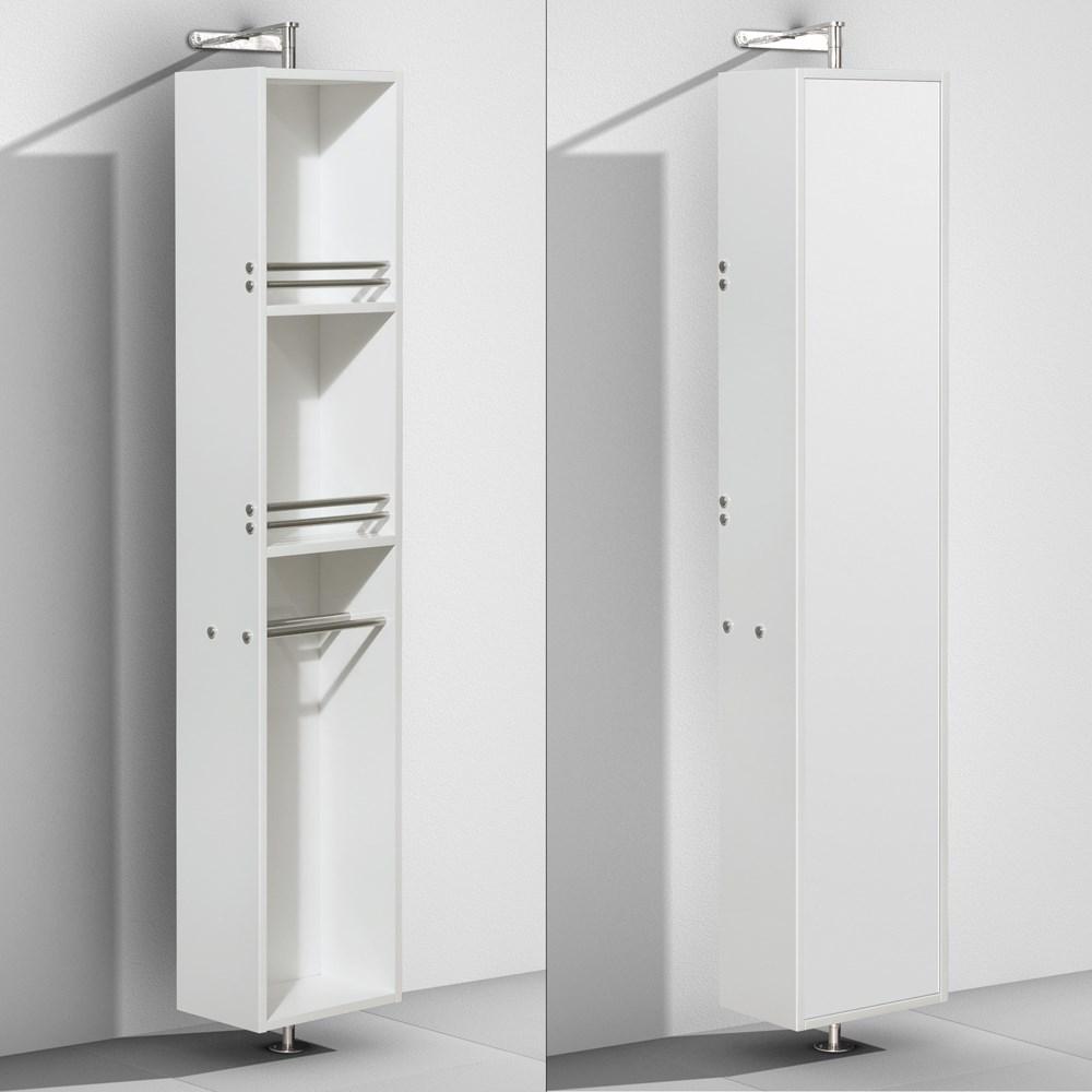 amare rotating floor cabinet with mirror by wyndham collection rh modernbathroom com