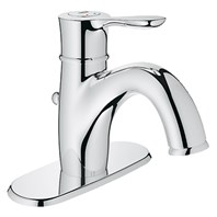 "Grohe Parkfield 4"" Lavatory Centerset - Starlight Chrome GRO 23306000"