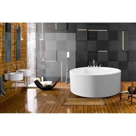 Aquatica PureScape 308B Freestanding Acrylic Bathtub - White Aquatica PS308B