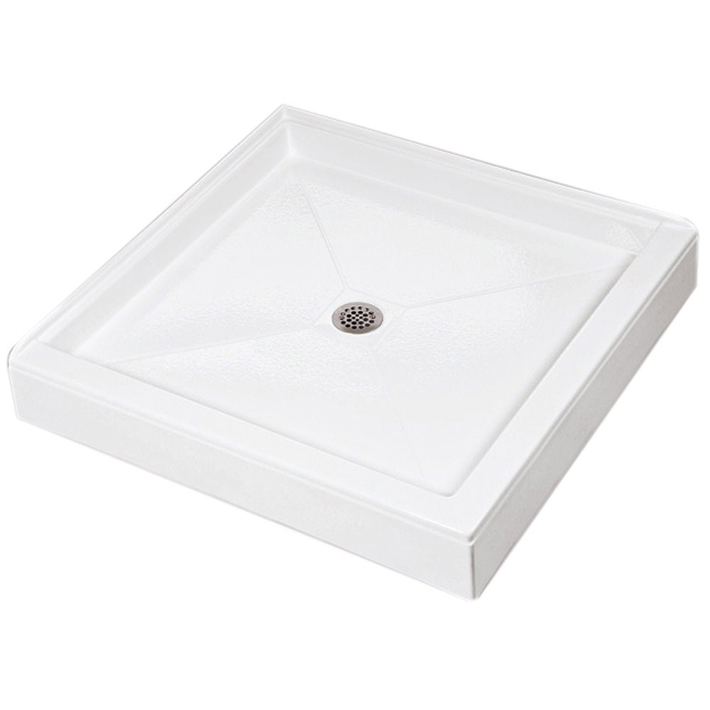 "MTI MTSB-3636DT Shower Base (35.5"" x 35.5"")nohtin Sale $915.00 SKU: MTSB-3636DT :"