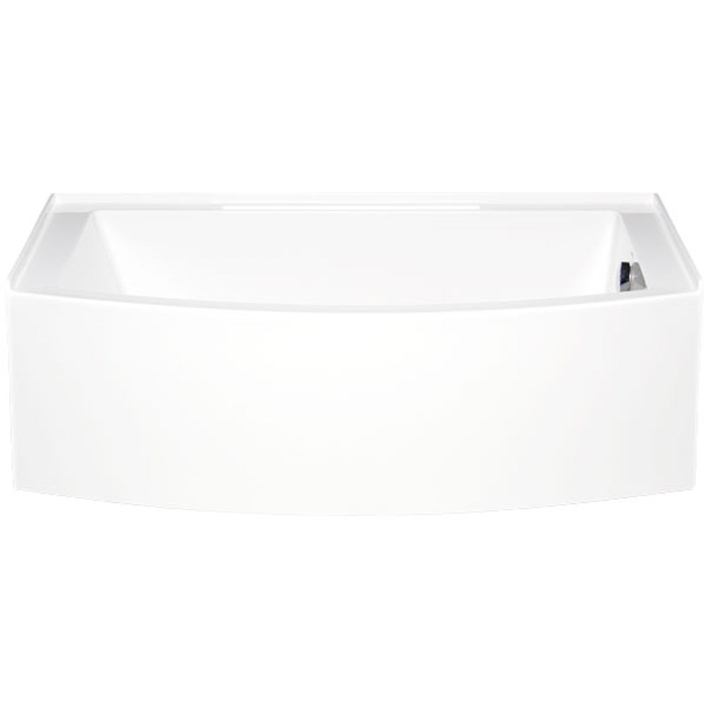 "Americh Mezzaluna 6032 Right Handed Tub (60"" x 32"" x 20"")nohtin Sale $1743.75 SKU: MZ6032R :"