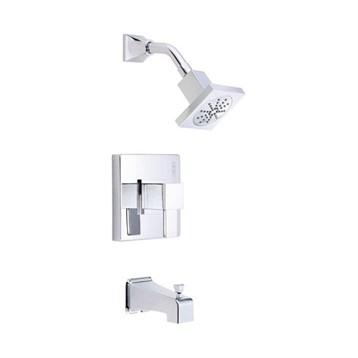 Danze Reef Trim Only Single Handle Tub & Shower Faucet, Chrome D502033T by Danze