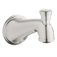 Grohe Geneva Tub Spout with Diverter - Infinity Brushed Nickel