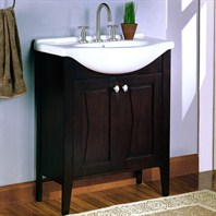 "Fairmont Designs 30"" Lifestyle Collection Tuxedo Vanity Combo - Espresso"