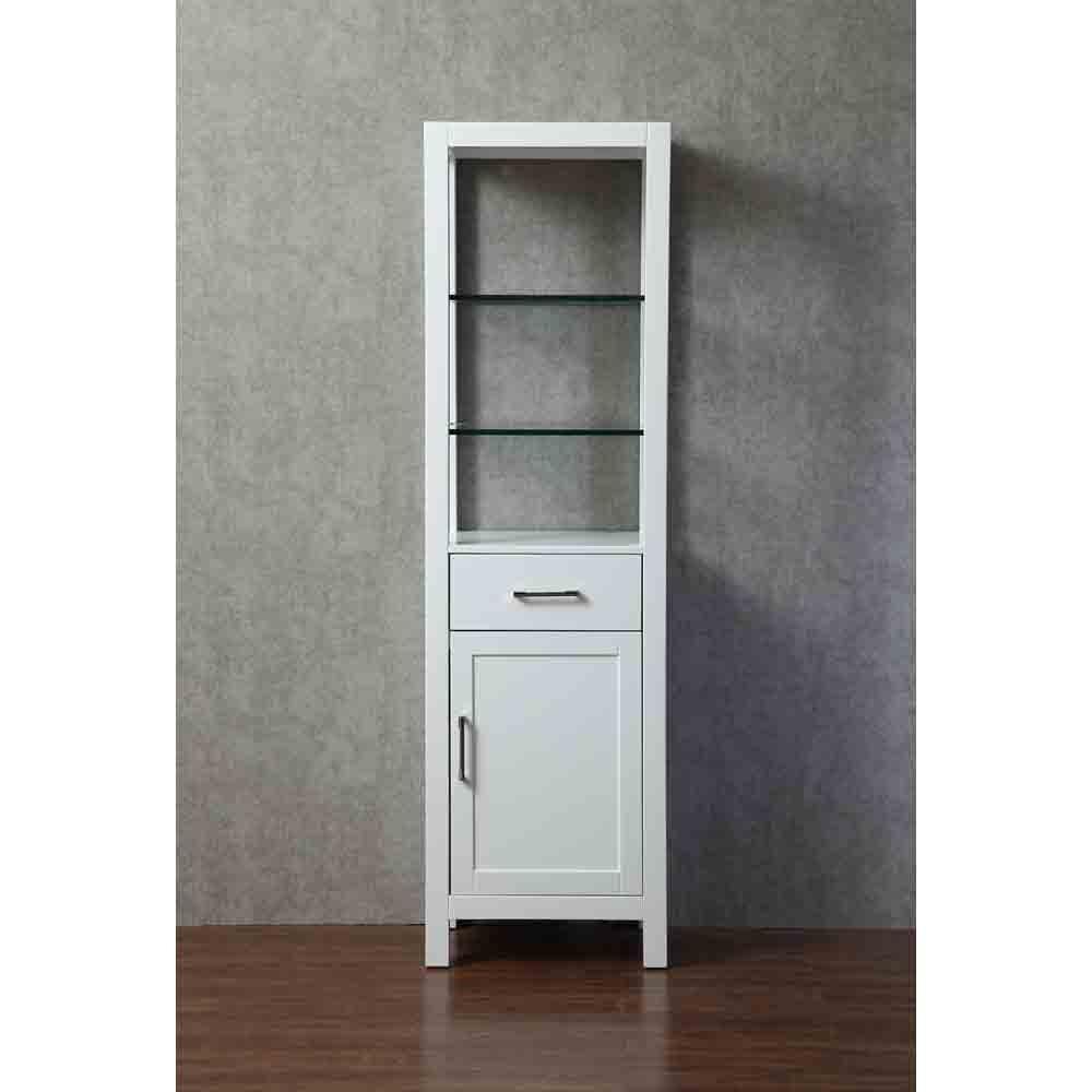 Stufurhome Gracie 20 Inch Linen Cabinet - Whitenohtin Sale $649.99 SKU: HD-218LC :
