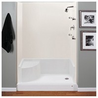 "MTI MTSB-6048Seated Shower Base (59.75"" x 47.75"" x 21.5"")"