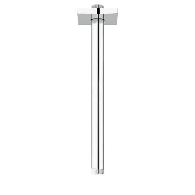 "Grohe Rainshower 12"" Shower Arm with Square Flange - Starlight Chrome GRO 27487000"