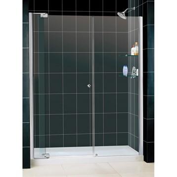 """Bath Authority DreamLine Allure Frameless Pivot Shower Door and SlimLine Single Threshold Shower Base, 32"""" by... by Bath Authority DreamLine"""
