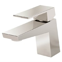 Danze Mid-Town 1H Lavatory Faucet Single Hole Mount w/ Metal Touch Down Drain 1.2gpm - Polished Nickel D222562PNV