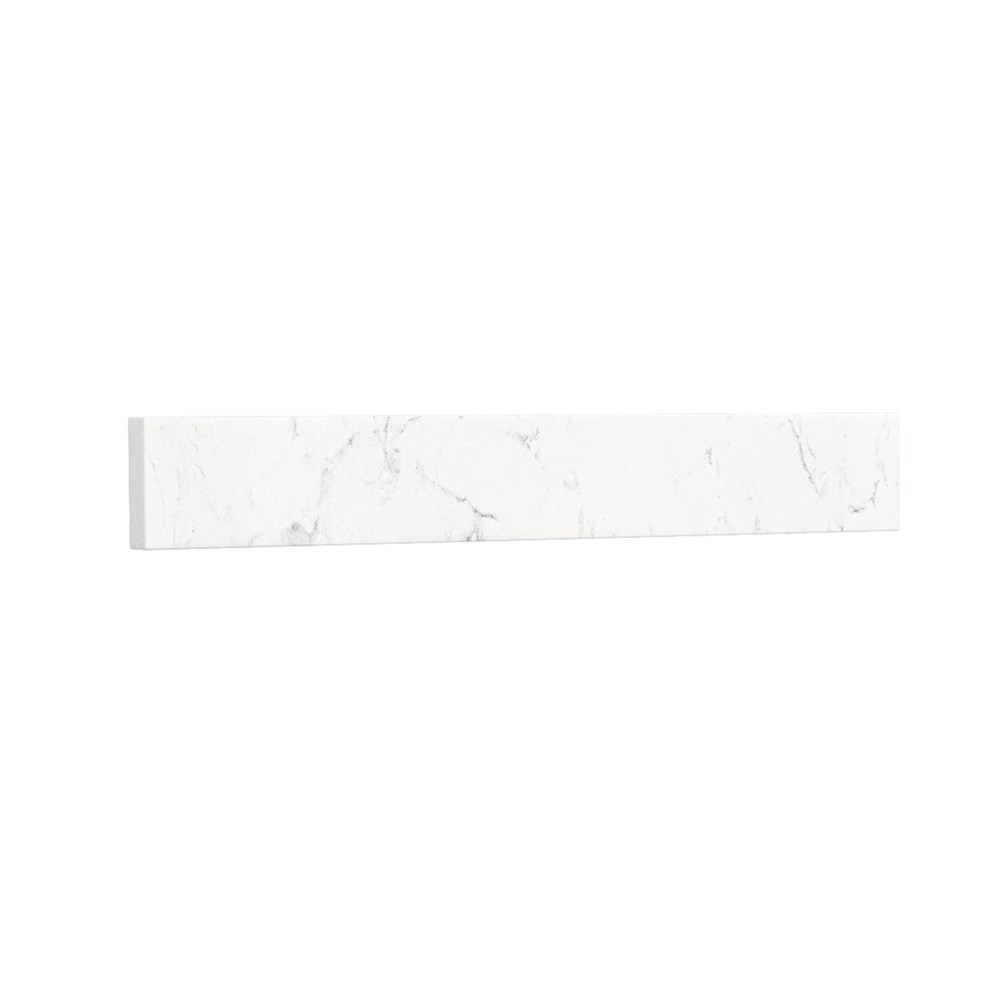 Side Splash - Light-Vein Carrara Cultured Marble REPL-WC-VCA-22-SS-CC2