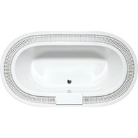 "Americh Isla Vista 8347 Tub (83"" x 47"" x 22"") IS8347T"