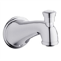 Grohe Geneva Tub Spout with Diverter - Starlight Chrome