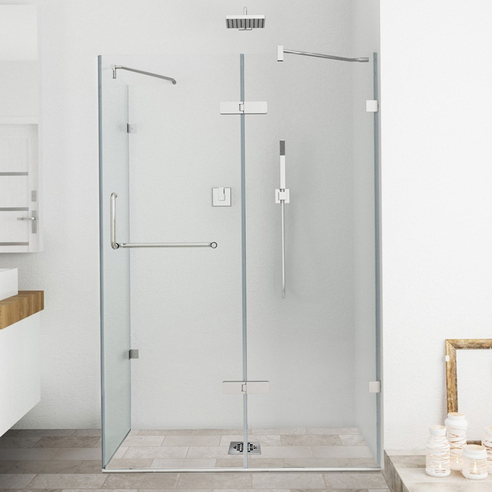 "Vigo Industries Frameless Rectangular Shower Enclosure - 32"" x 48"", Clearnohtin Sale $1235.99 SKU: VG6011CL-32x48 :"