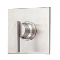 "Danze® Sirius™ Single Handle 3/4"" Thermostatic Shower Valve Trim Kit - Brushed Nickel"