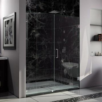 "Bath Authority DreamLine Radiance Shower Door w/ 30"" Panel, 53"", 60"" SHDR-235XX210 by Bath Authority DreamLine"