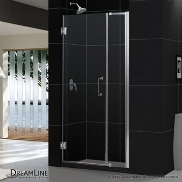 Bath Authority DreamLine Unidoor 35 in., 43 in. Frameless Hinged Shower Door SHDR-20357210C by Bath Authority DreamLine