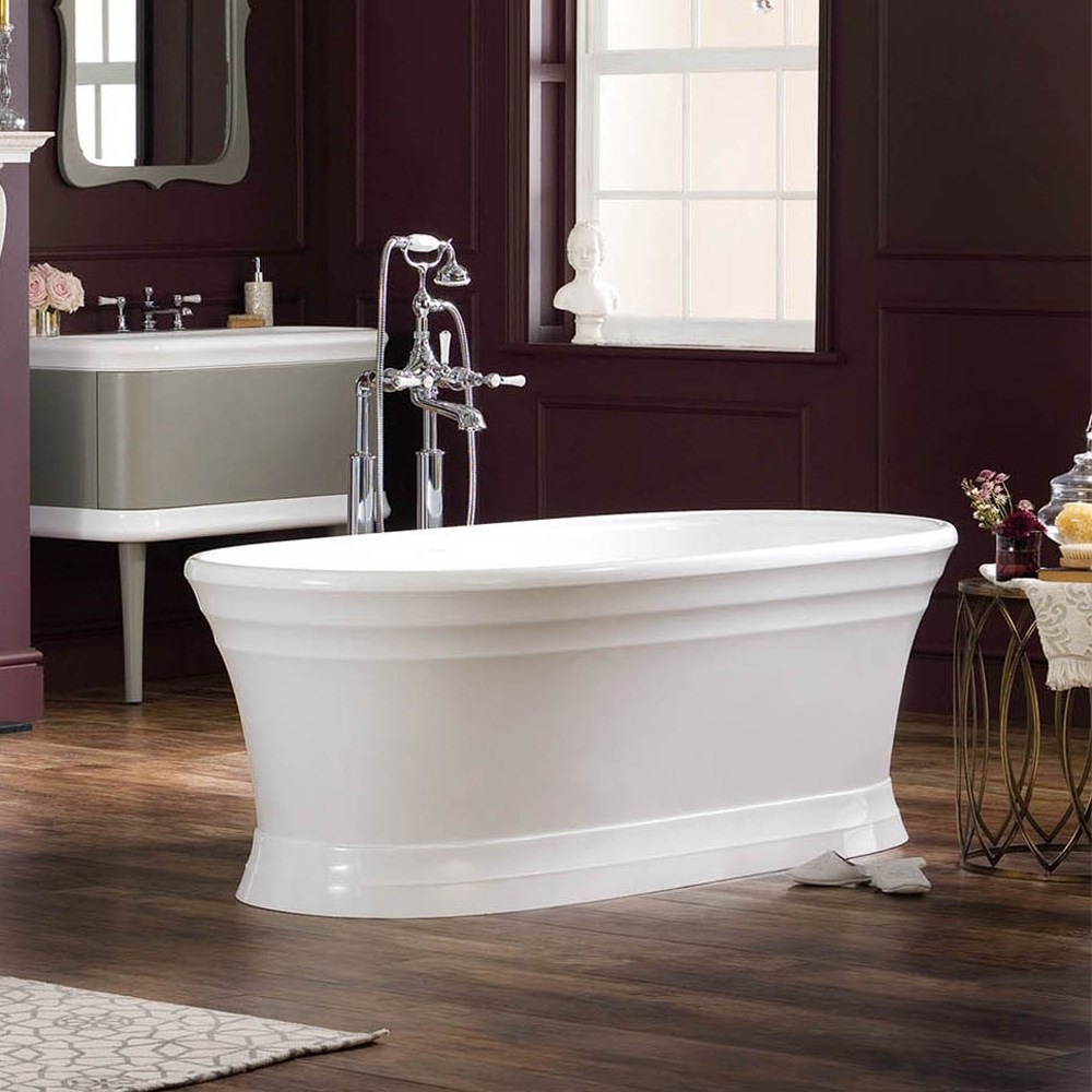 Worcester Bathtub by Victoria and Albert WOR-N-SW-OF + WOR-B-SW (C7444)