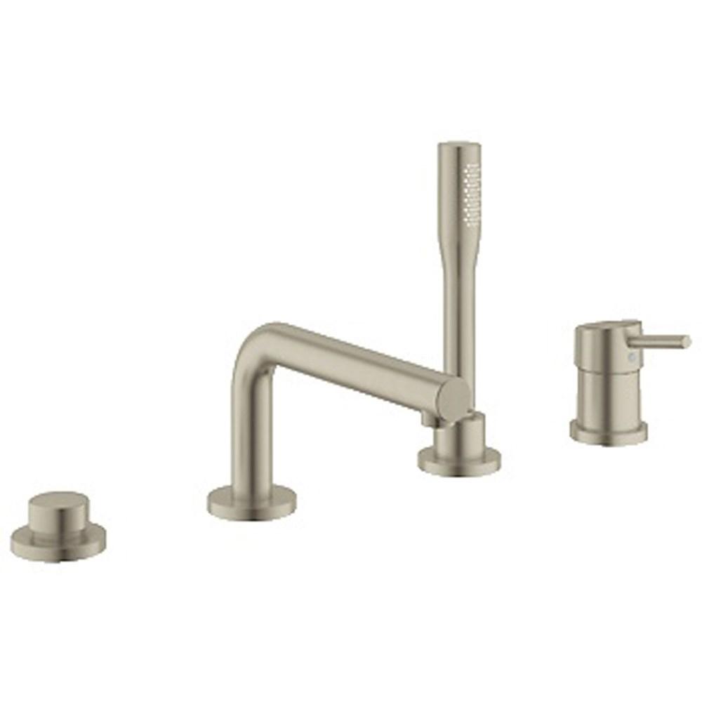 Grohe Concetto 4-Hole Single-lever Bath Combination - Brushed Nickelnohtin Sale $1423.99 SKU: GRO 19576EN1 :