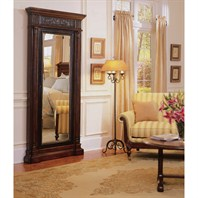Cole & Co. Masterpiece Floor Mirror - Brown